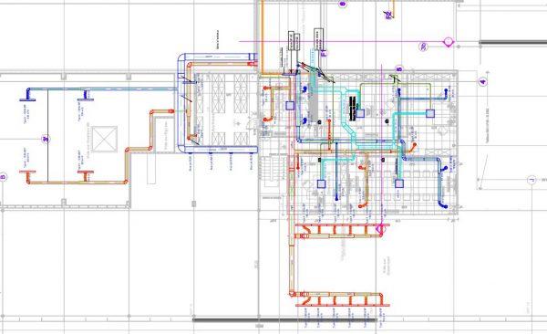 Plan de ventilation pour un concessionnaire