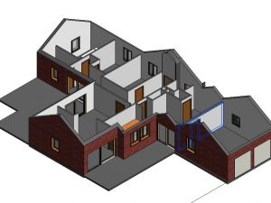 Modélisation  pour une maison