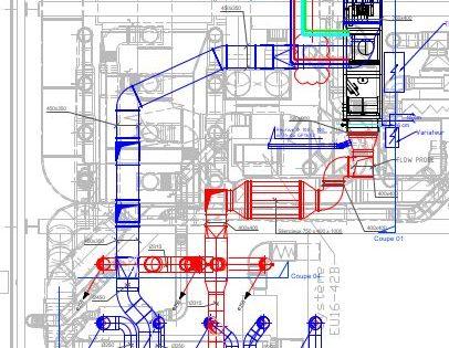 Industrie ajout de ventilation